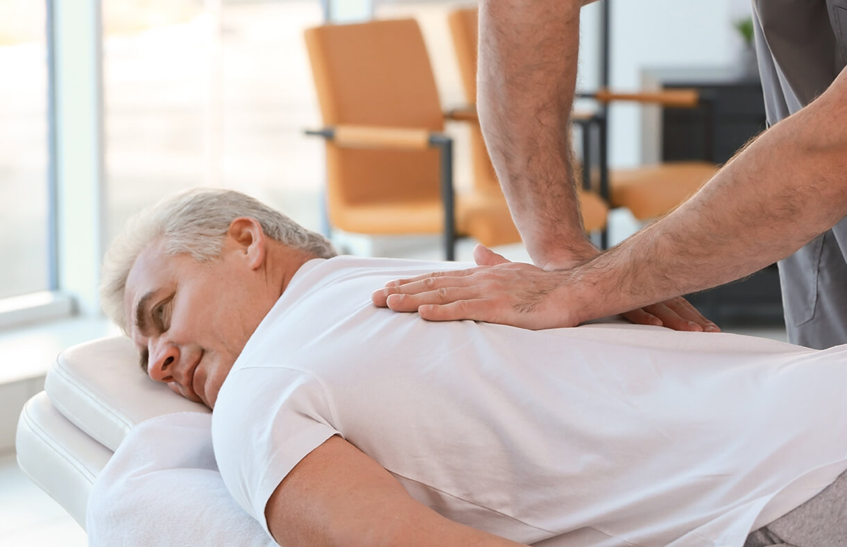 массаж больного